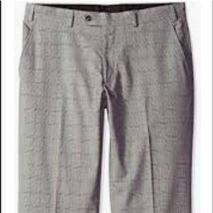 Perry Ellis Men's 36x32 Flat Front Dress Pants.